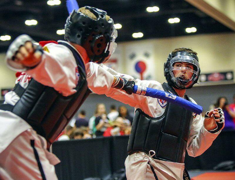 taekwondo headgear with face shield
