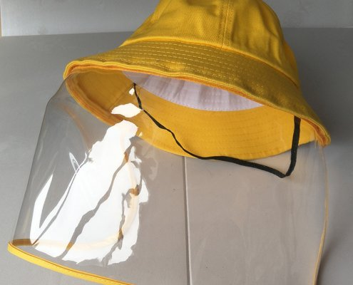 bucket hat with face shield for kids 13564790205 2045698582