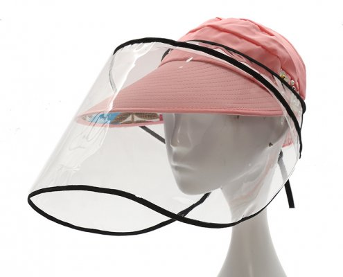 portable face shield high clear uv protective
