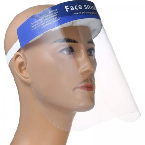 "Clear Safety Face Shield 12.5""x 8.66"""