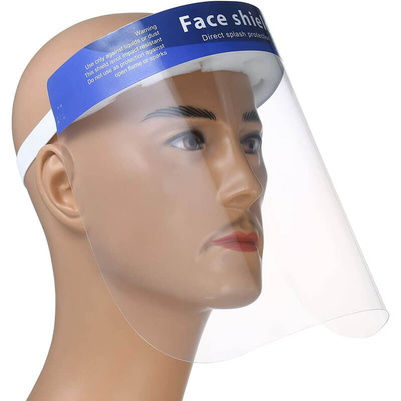 """Clear Safety Face Shield 12.5""""x 8.66"""""""
