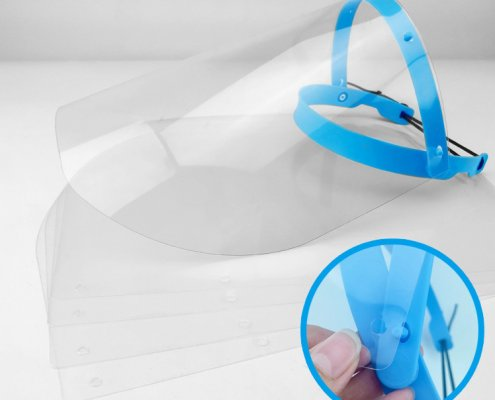 dental face shield to go over loupes wholesale supplier