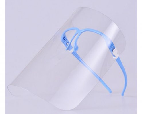 face shield or goggles ppe