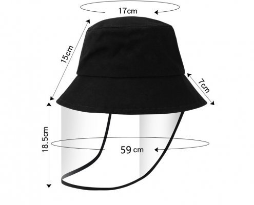 Bucket Hat With Face Shield Wholesale