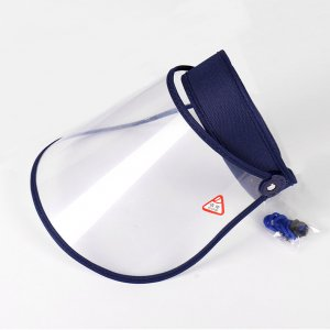 face shield visor with adjustable headband