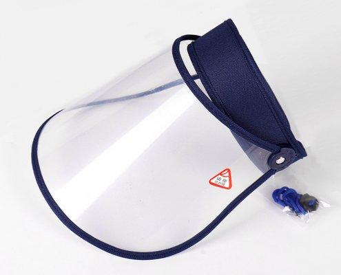 face shield visor with adjustable headband