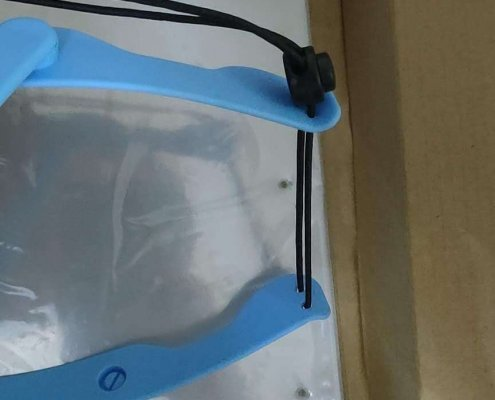 dental face shield that fits over loupes wholesale supplier