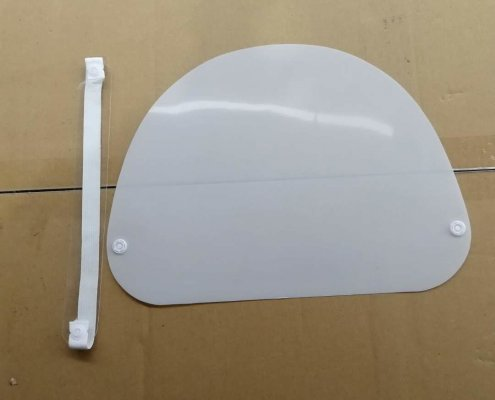best clear face shield for covid