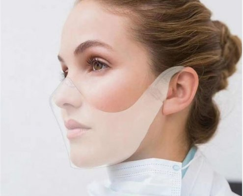 clear face shield for mouth wholesale supplier