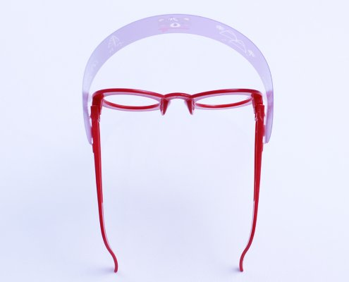 Eyes safety goggles with face shield for children