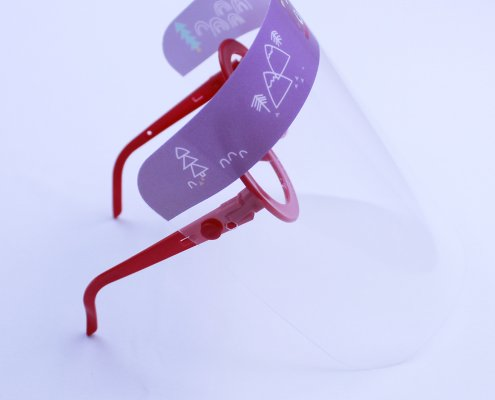 Safety goggles with face shield for child